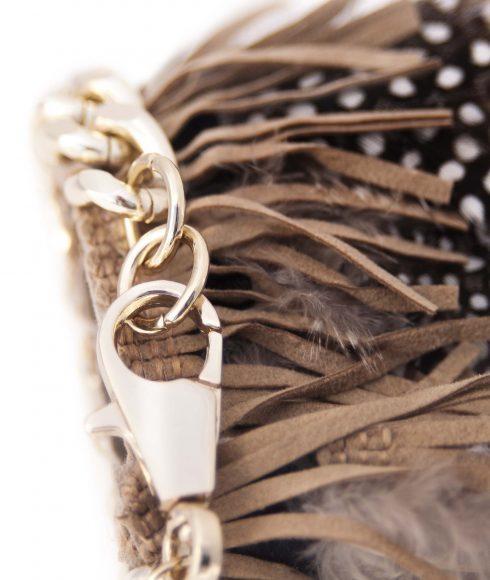 Feathered Bracelet Back
