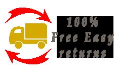 Free easy returns