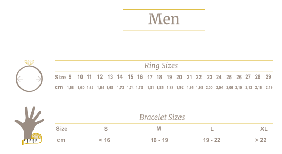 Guide Size Men