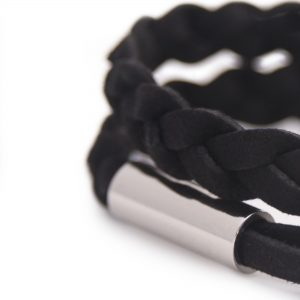 Black Bracelet for Men Detail