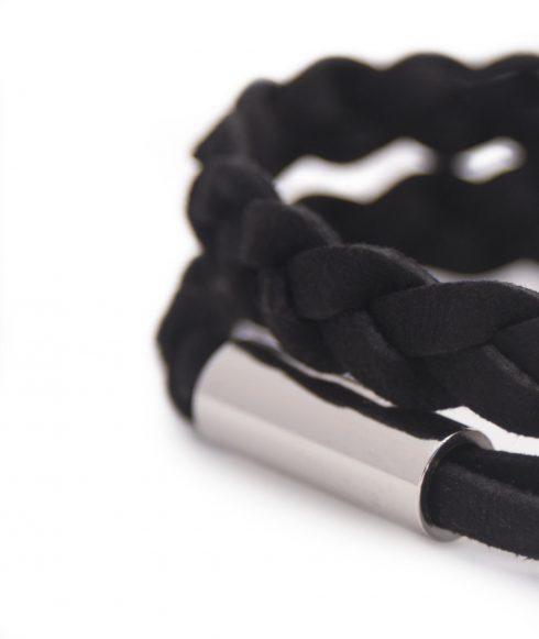 Black Bracelet for Men Detail