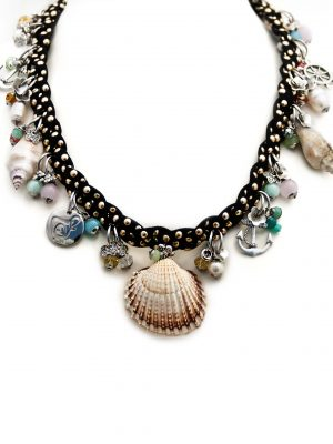 Black Braided Necklace