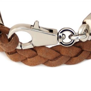 Brown Bracelet for Men Back