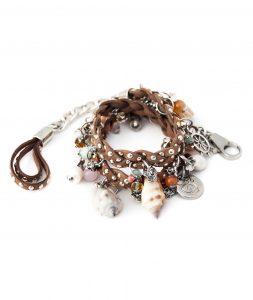 Brown Braided Bracelet