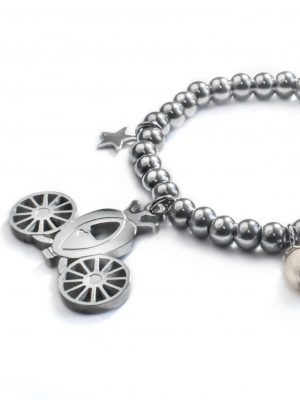 Cinderella Carriage Bracelet Detail