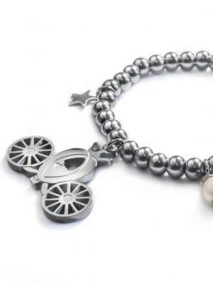 Cinderella Carriage Bracelet Detail