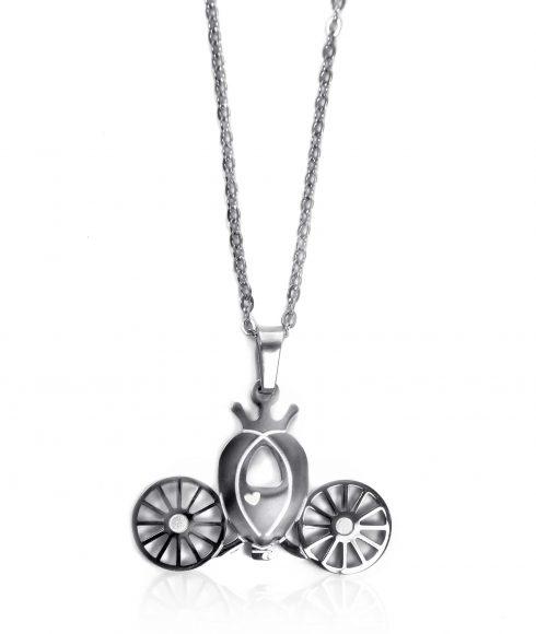 Cinderella Carriage Necklace