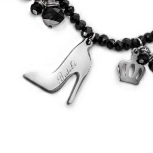 Cinderella Charms Necklace Detail