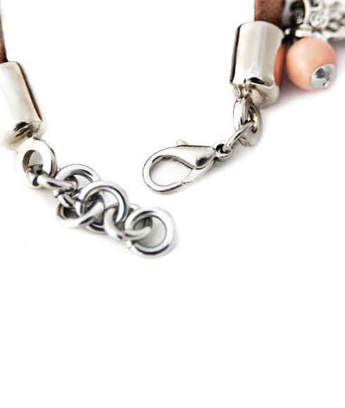 Mini Brown Bracelet Back