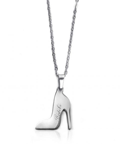 Cinderella Slipper Necklace