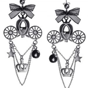 Cinderella Carriage Earrings