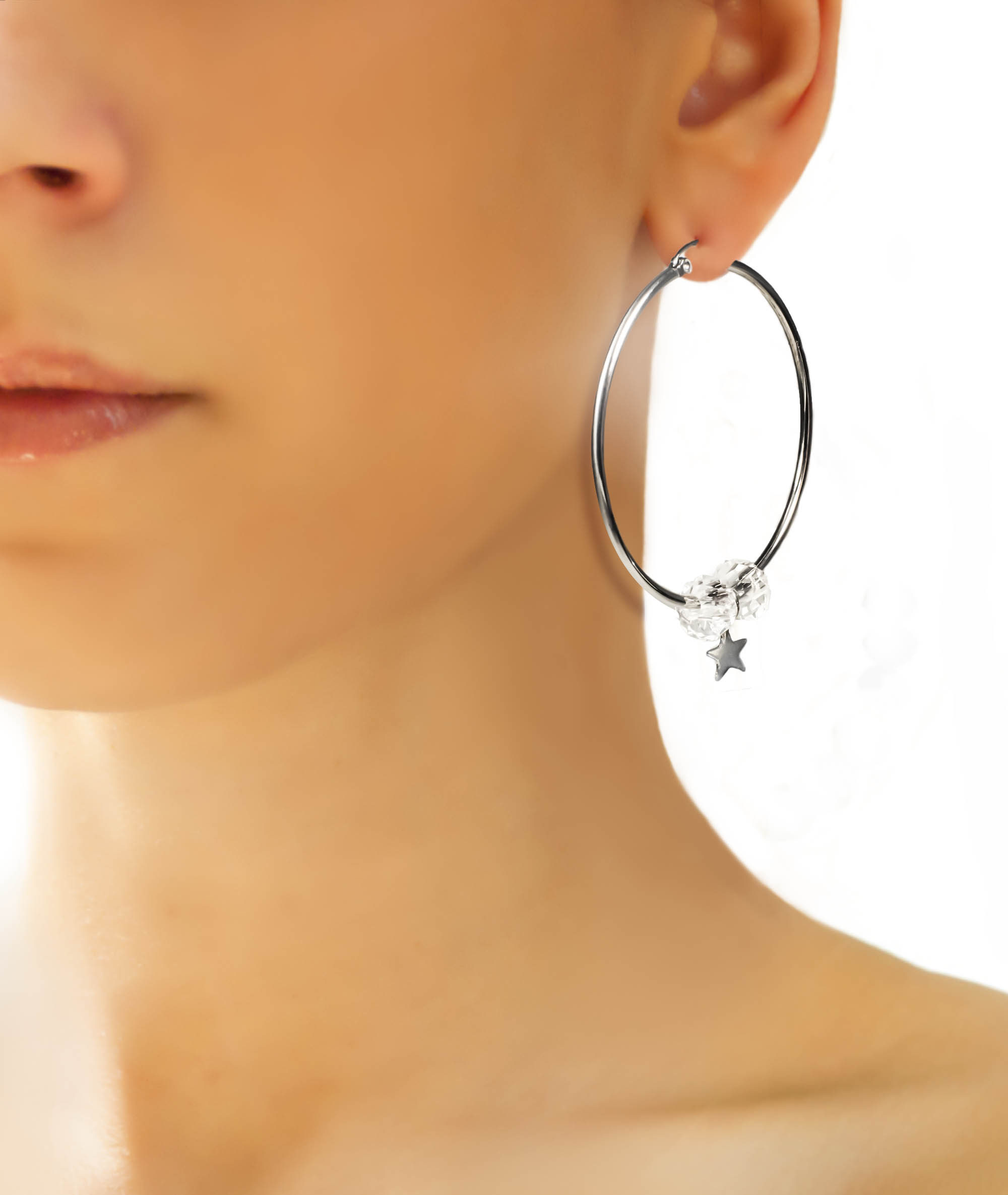 hoop earrings products laruicci hoops lucite hood